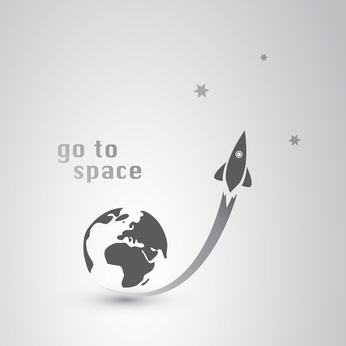 go to space